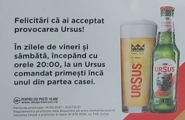 promotie Ursus